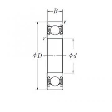 40 mm x 94 mm x 26 mm  40 mm x 94 mm x 26 mm  KOYO DG4094W-2RSHR4SH2C5 deep groove ball bearings