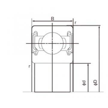 45 mm x 58 mm x 7 mm  45 mm x 58 mm x 7 mm  NACHI 6809-2NKE deep groove ball bearings