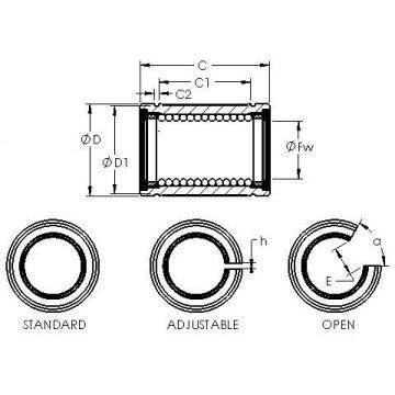 AST LBB 32 linear bearings
