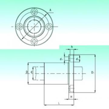NBS KBF40 linear bearings