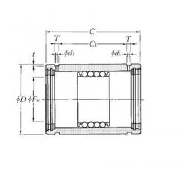 NTN KD80110100LL linear bearings