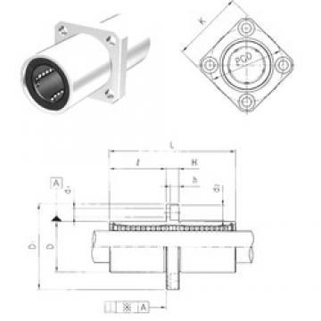 Samick LMEKM8UU linear bearings