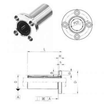 Samick LMEF20L linear bearings