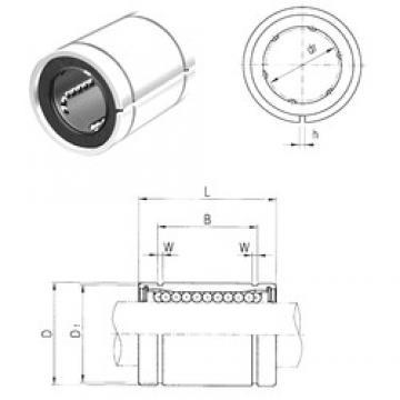 6 mm x 12 mm x 13,5 mm  6 mm x 12 mm x 13,5 mm  Samick LM6UUAJ linear bearings