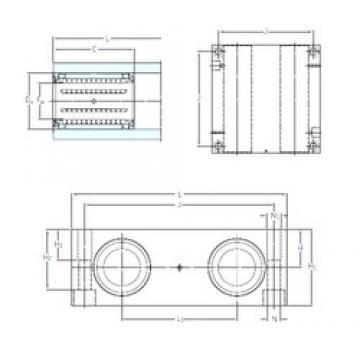 SKF LQCD 20-2LS linear bearings