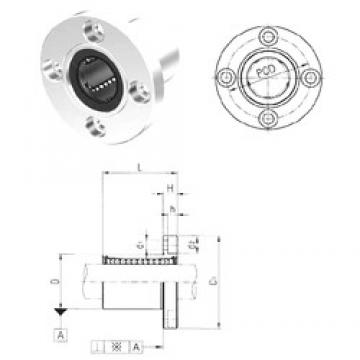 Samick LMF25UU linear bearings