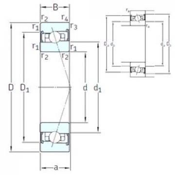 95 mm x 130 mm x 18 mm  95 mm x 130 mm x 18 mm  SNFA HB95 /S/NS 7CE3 angular contact ball bearings