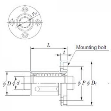 KOYO SDMF6MG linear bearings