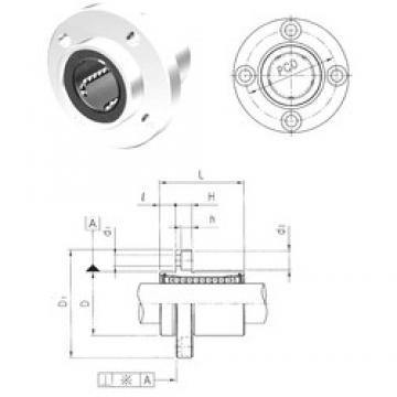 Samick LMFP40UU linear bearings