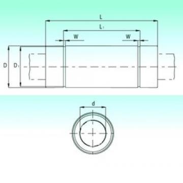 NBS KBL2080 linear bearings
