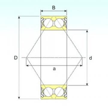 15 mm x 35 mm x 15,9 mm  15 mm x 35 mm x 15,9 mm  ISB 3202-ZZ angular contact ball bearings