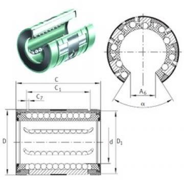 INA KNO 25 B-PP linear bearings