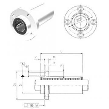 Samick LMFP16LUU linear bearings