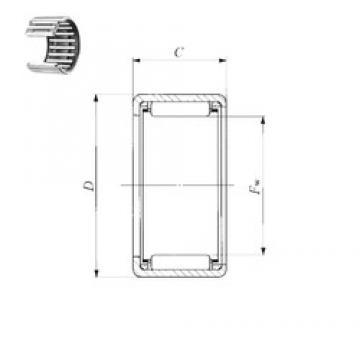 IKO TA 4520 Z needle roller bearings