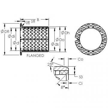AST ASTB90 F20090 plain bearings