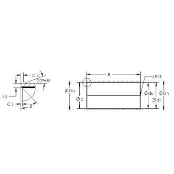 AST AST850SM 1825 plain bearings