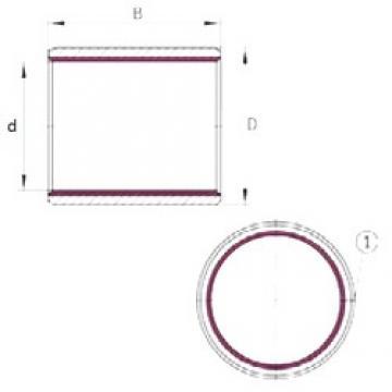 25 mm x 28 mm x 40 mm  25 mm x 28 mm x 40 mm  INA EGB2540-E40 plain bearings