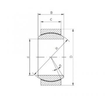 240 mm x 340 mm x 140 mm  240 mm x 340 mm x 140 mm  ISO GE240UK-2RS plain bearings