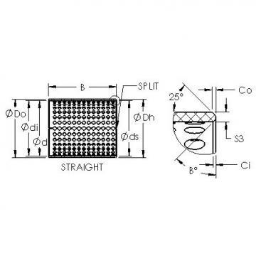 AST ASTT90 300100 plain bearings