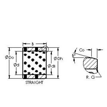 AST AST650 506550 plain bearings