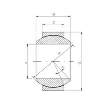 60 mm x 105 mm x 63 mm  60 mm x 105 mm x 63 mm  ISO GE60FW-2RS plain bearings