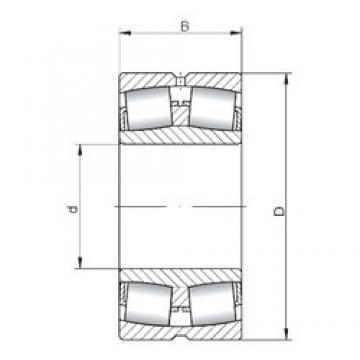 630 mm x 850 mm x 165 mm  630 mm x 850 mm x 165 mm  ISO 239/630W33 spherical roller bearings