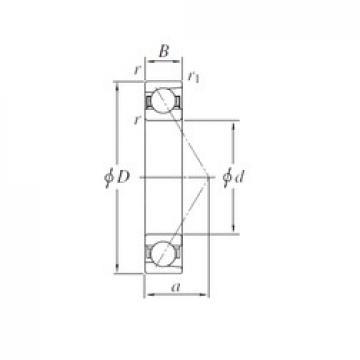 170 mm x 360 mm x 72 mm  KOYO 7334 angular contact ball bearings