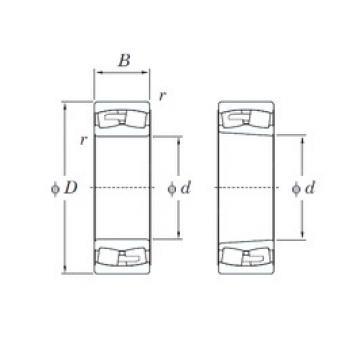 190 mm x 340 mm x 92 mm  190 mm x 340 mm x 92 mm  KOYO 22238RHAK spherical roller bearings