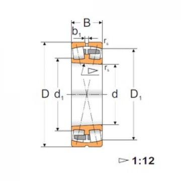 95 mm x 200 mm x 67 mm  FBJ 22139K spherical roller bearings
