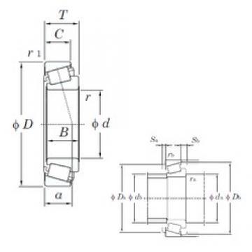 KOYO M86648R/M86610 tapered roller bearings
