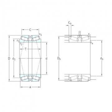 SKF 31318T103J2/DB31 tapered roller bearings
