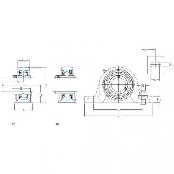 SKF SYH 1.7/16 WF bearing units #3 image