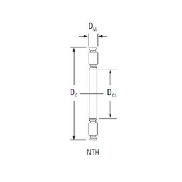 KOYO NTH-2448 thrust roller bearings #3 image