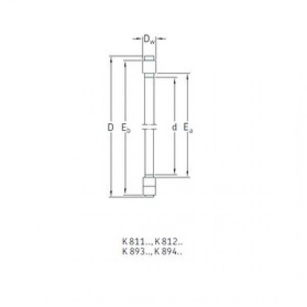 SKF K81248M thrust roller bearings #3 image