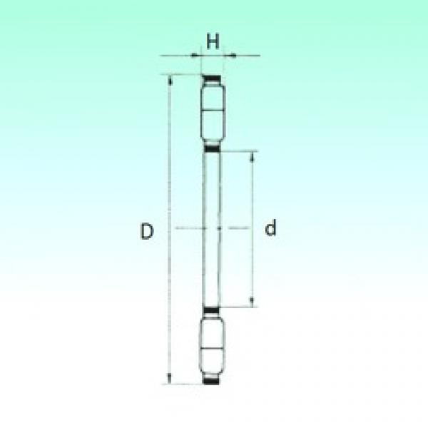 NBS K89326-M thrust roller bearings #3 image