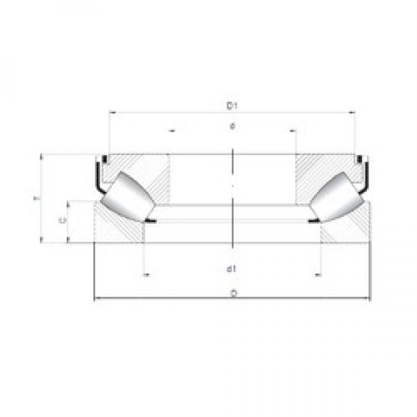 ISO 29248 M thrust roller bearings #1 image