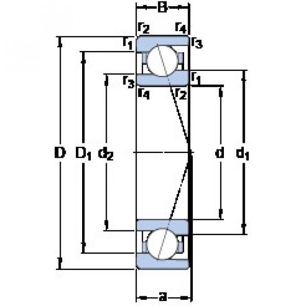 65 mm x 90 mm x 13 mm  65 mm x 90 mm x 13 mm  SKF 71913 CE/HCP4A angular contact ball bearings #3 image