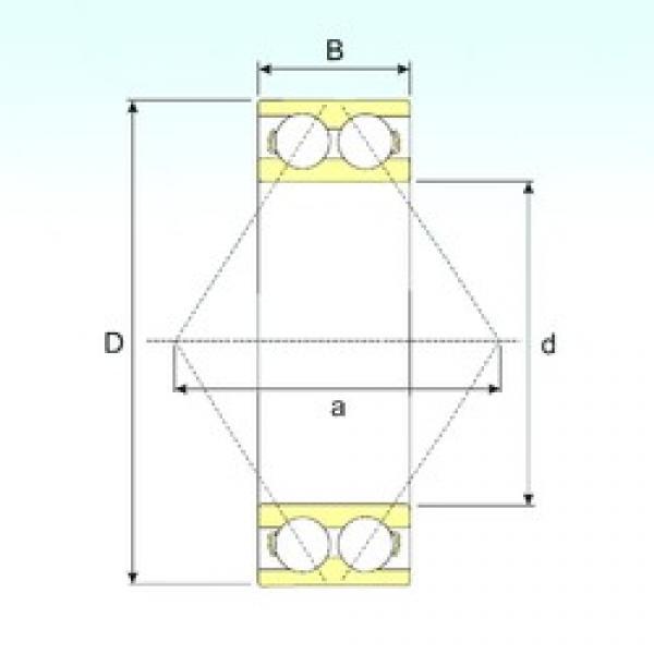 60 mm x 130 mm x 54 mm  60 mm x 130 mm x 54 mm  CYSD 3312 angular contact ball bearings #3 image