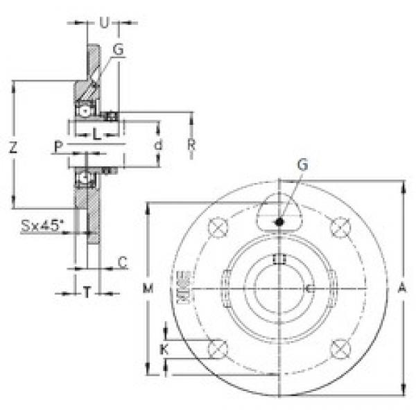 NKE PMEY50-N bearing units #3 image