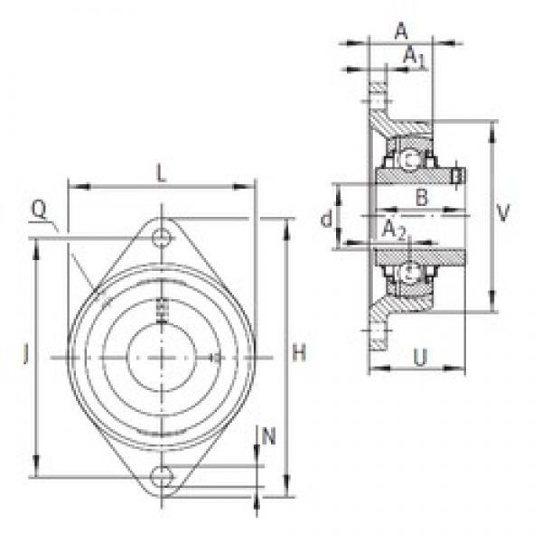 INA RCJTY30-N bearing units #3 image