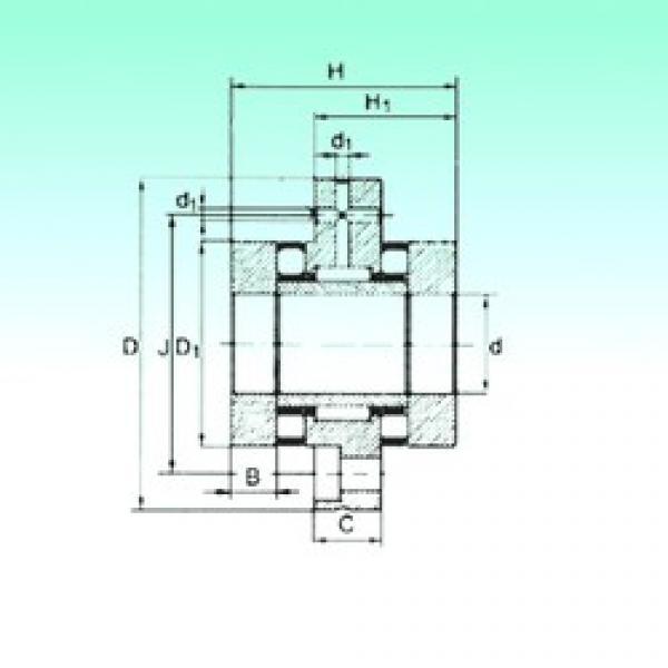 15 mm x 60 mm x 7,5 mm  15 mm x 60 mm x 7,5 mm  NBS ZARF 1560 TN complex bearings #3 image