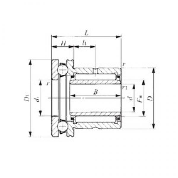 25 mm x 42 mm x 20,5 mm  25 mm x 42 mm x 20,5 mm  IKO NAXI 2530 complex bearings #3 image