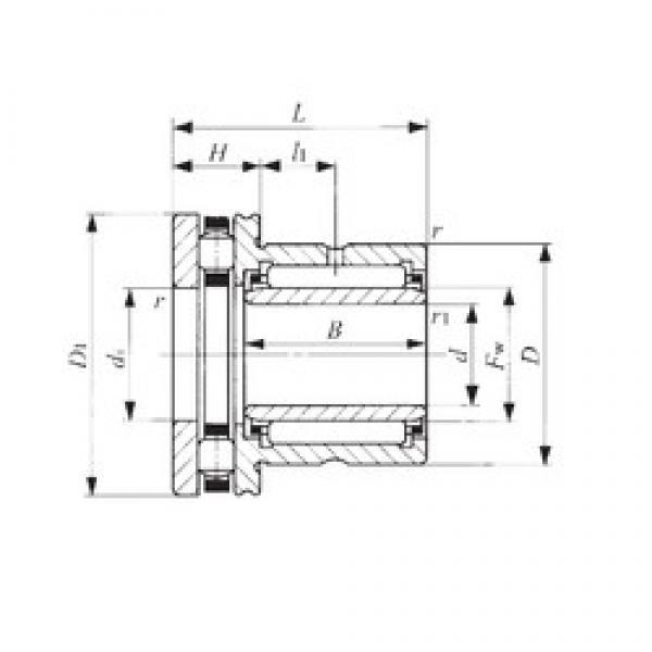40 mm x 58 mm x 20 mm  40 mm x 58 mm x 20 mm  IKO NBXI 4032 complex bearings #3 image