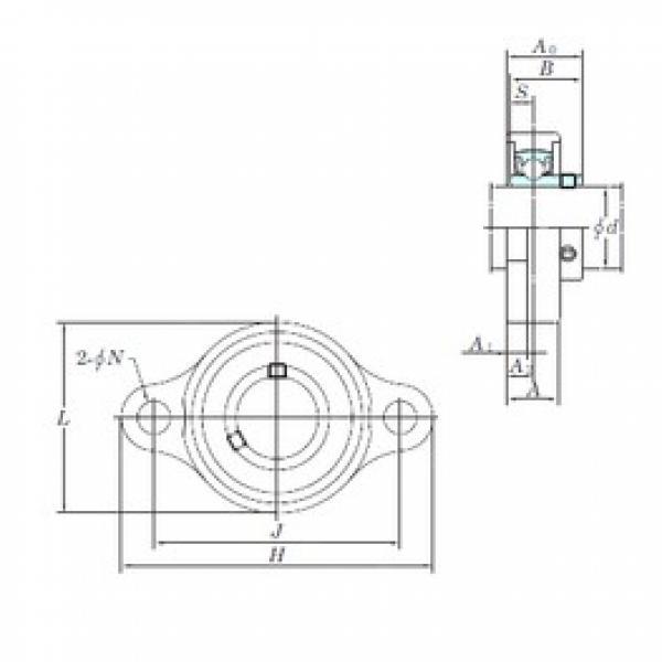 KOYO USFL002S6 bearing units #3 image