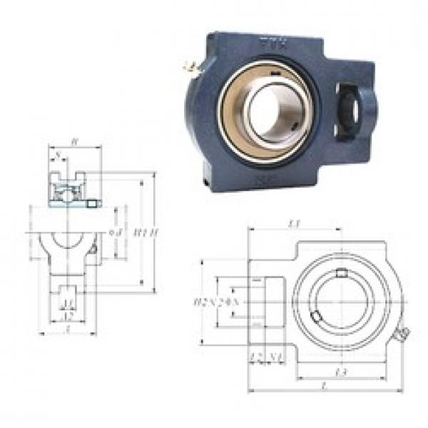 FYH UCT209 bearing units #3 image