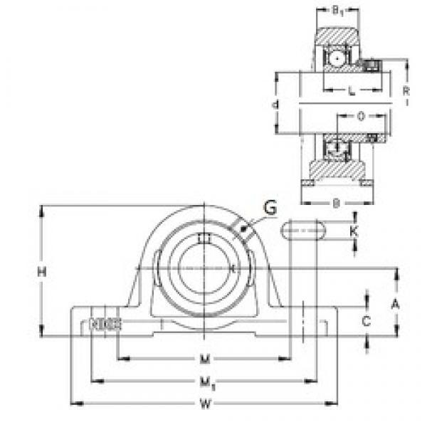NKE RASE60-N bearing units #3 image