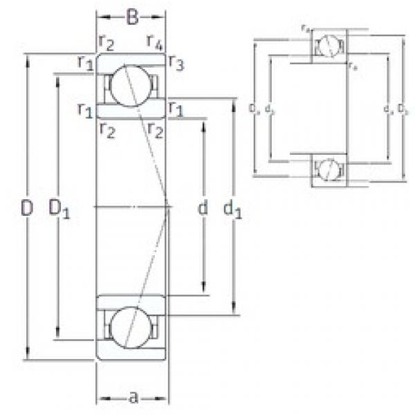 50 mm x 72 mm x 12 mm  50 mm x 72 mm x 12 mm  SNFA VEB 50 /NS 7CE3 angular contact ball bearings #3 image