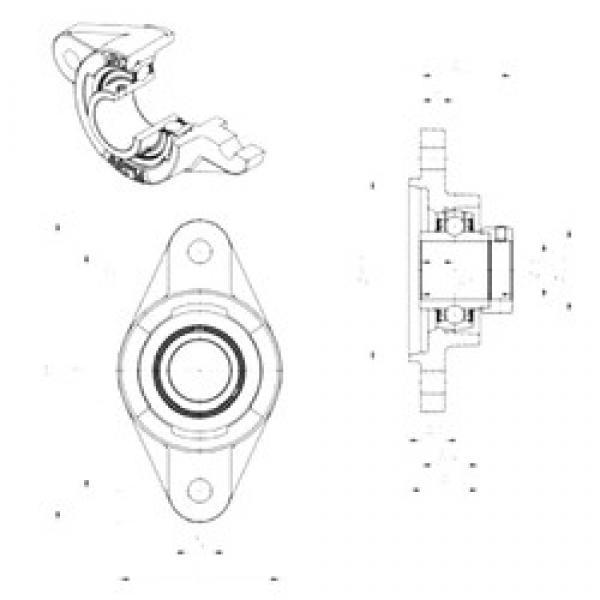 SNR EXFLZ202 bearing units #3 image