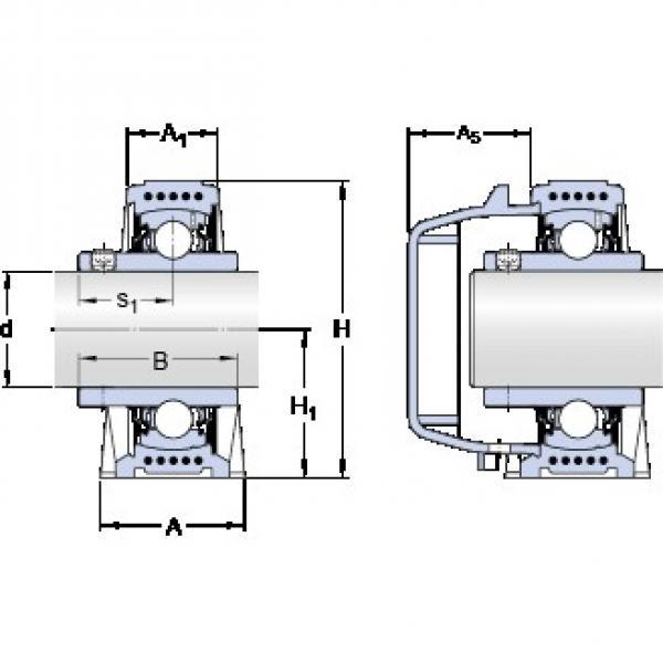 SKF SYWK 25 YTA bearing units #3 image