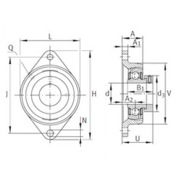 INA PCJT2-3/16 bearing units #3 image